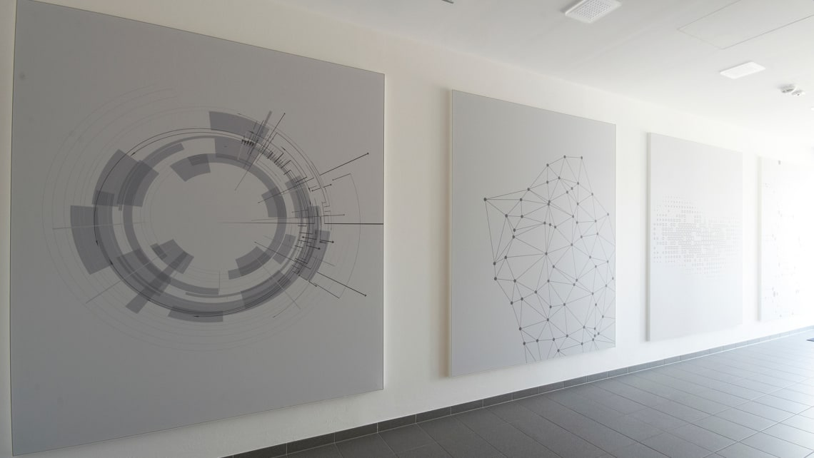 Akustikprofil Akustik individuell bedruckte Wandbilder